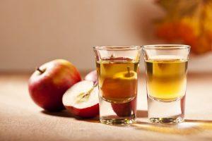 настойка самогона на яблоках