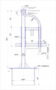 чертеж бражной колонны
