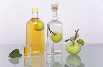 настойки с яблоками