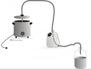 альтернативная система охлаждения в самогонном аппарате