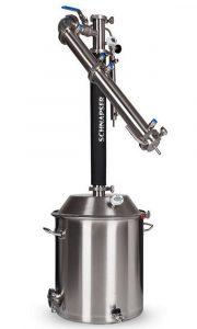 повысить производительность самогонного аппарата Schnapser XO3 помогает система охлаждения воды
