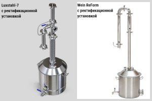 Luxstahl-7, Wein ReForm с ректификационной установкой