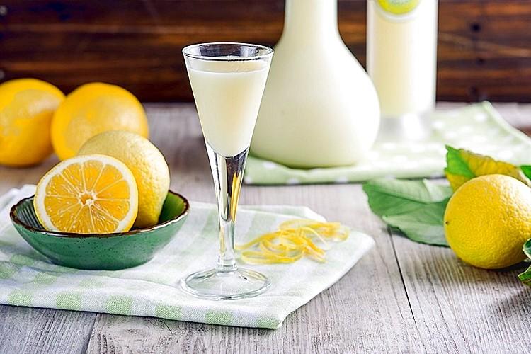 коктейль с лимончелло кремовый