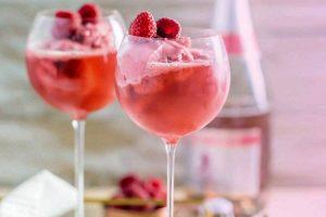 мороженое с алкоголем, Клубничный мартини